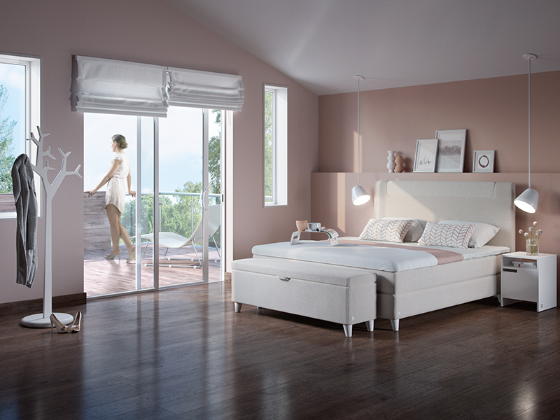 Svane Silhouette continental bed